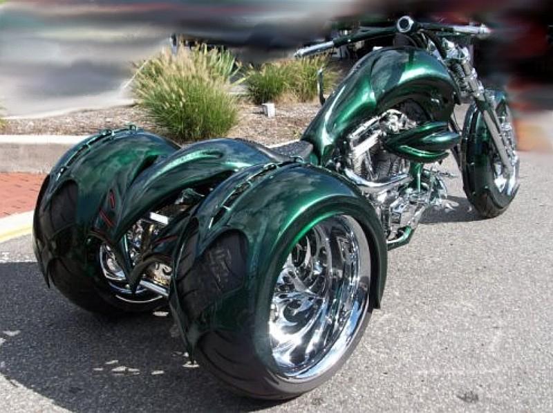 Frankenstein Trikes Harley-Davidson Pic-Up Trike